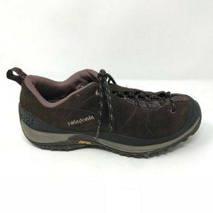 Patagonia Bly Velvet Brown Hiking Vibram Sole Shoe